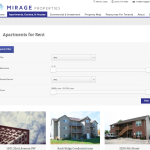Mirage Website