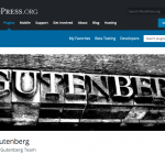 Gutenberg Plugin for WordPress