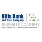 Hills Bank and Trust Company Business Academy logo