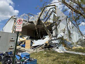 Cedar Rapids Ice Arena - 2020 Storm Damage